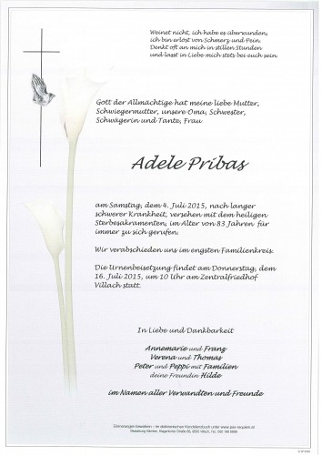 Adele Pribas