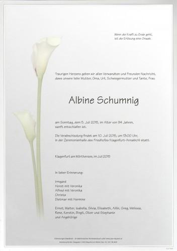 Albine Schumnig