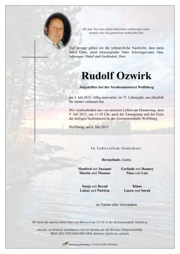 Rudolf Ozwirk