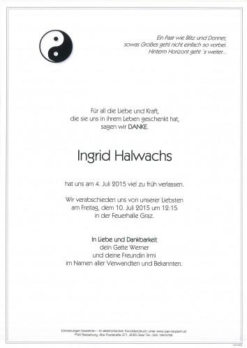 Ingrid Halwachs