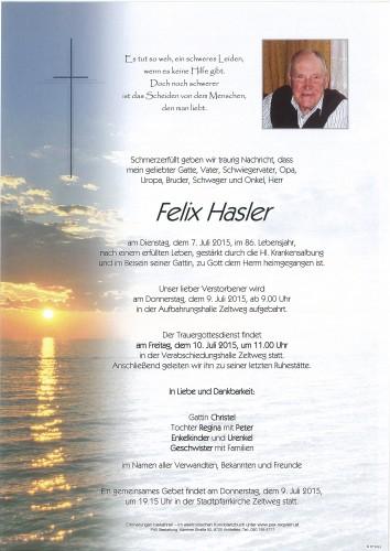Felix Hasler