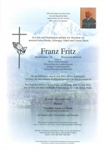 Franz Fritz