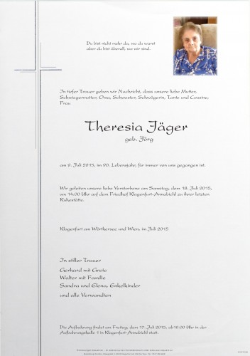 Theresia Jäger