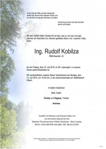 Rudolf Kobilza Ing.