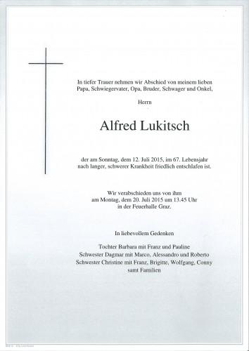 Alfred Lukitsch