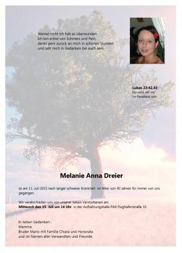 Melanie Anna Dreier