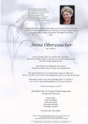 Anna Oberzaucher