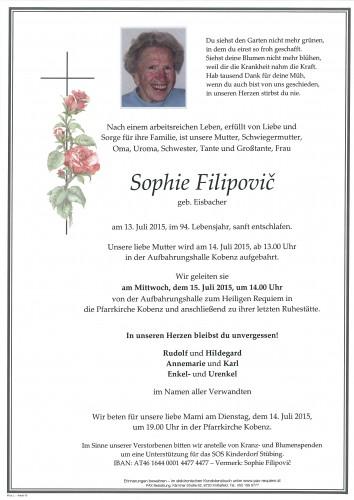 Sophie Filipovic