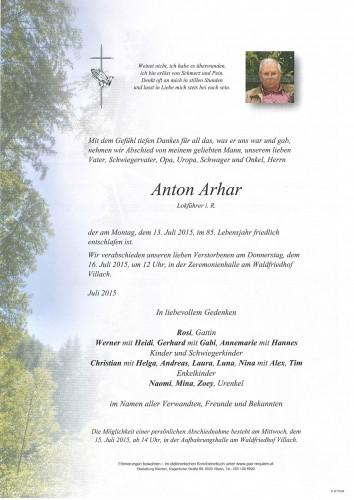 Anton Arhar