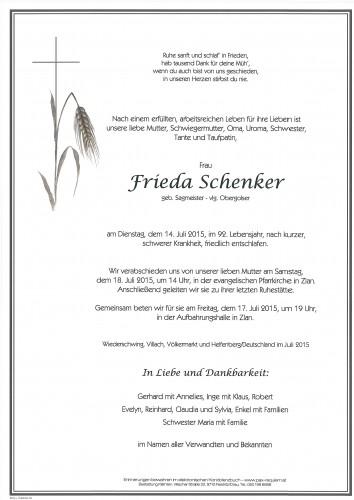 Frieda Schenker
