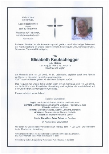 Elisabeth Keutschegger