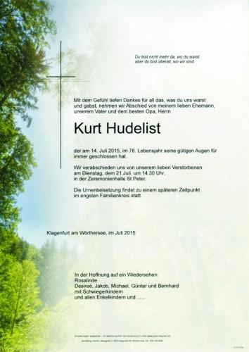 Kurt Hudelist