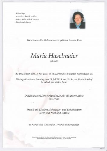 Maria Haselmaier