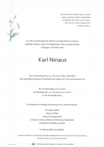 Karl Ninaus