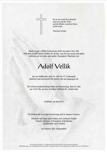 Adolf Vellik