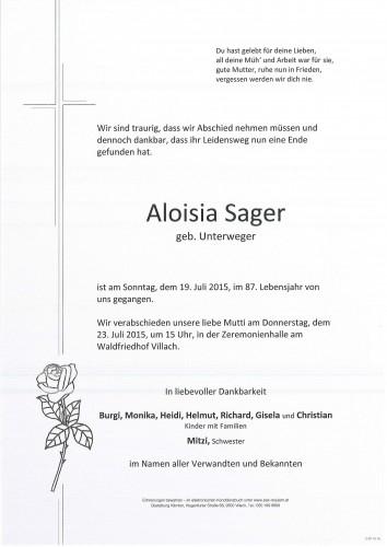Aloisia Sager