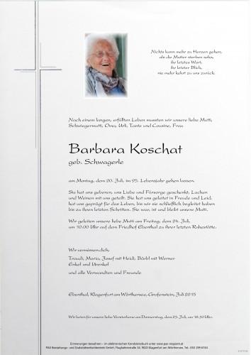 Barbara Koschat