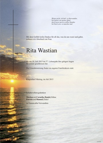 Rita Wastian