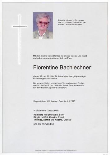 Florentine Bachlechner