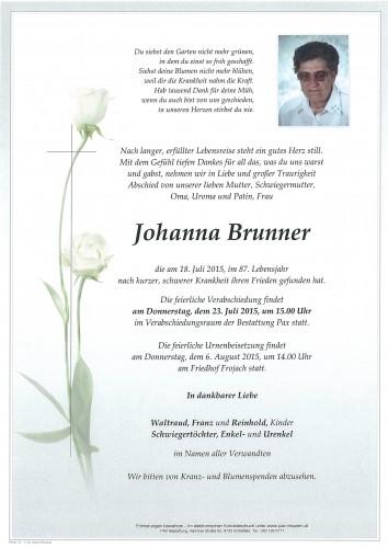 Johanna Brunner