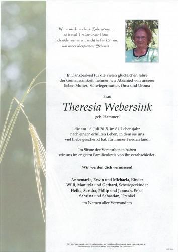 Theresia Webersink