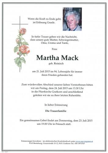 Martha Mack