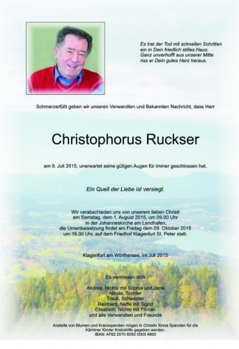 Christophorus Ruckser