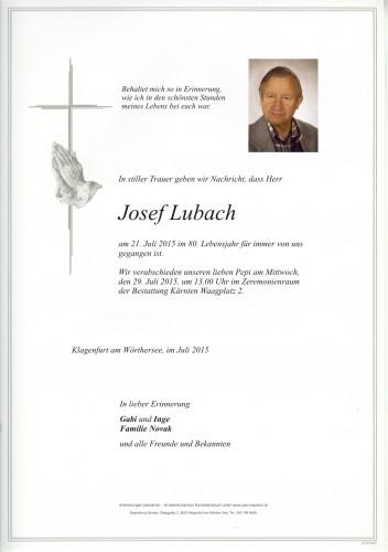 "Josef ""Pepi"" Lubach"