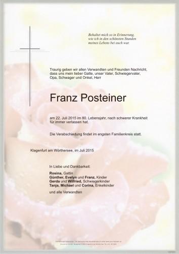 Franz Posteiner