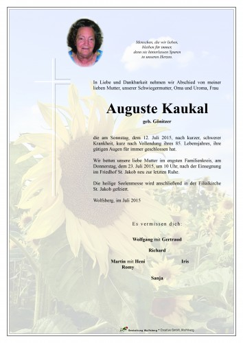 Auguste Kaukal