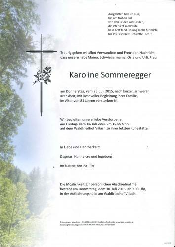Karoline Sommeregger