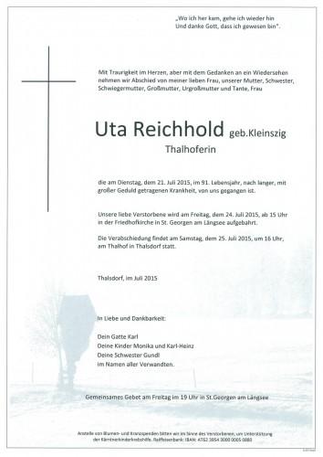 Reichhold Uta