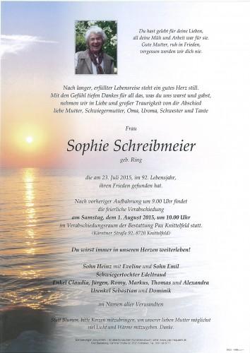 Sophie Schreibmeier