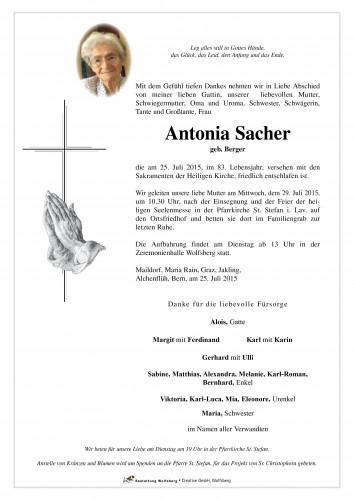 Antonia Sacher