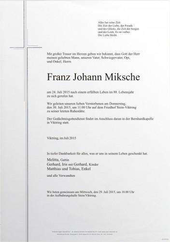 Franz Miksche