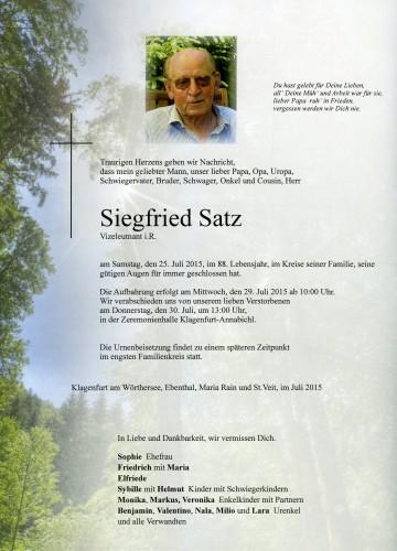 Siegfried Satz