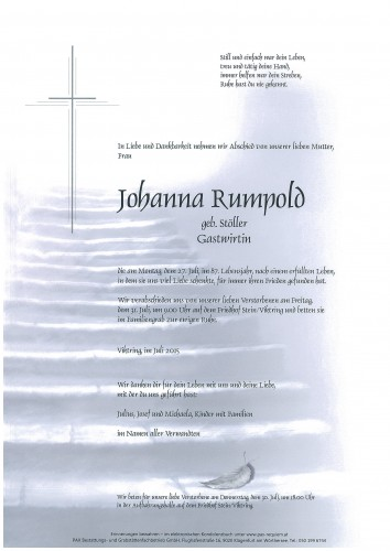 Johanna Rumpold