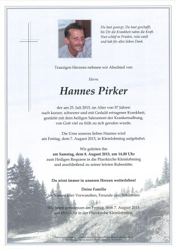 Hannes Pirker