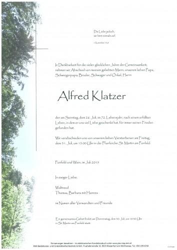 Alfred Klatzer