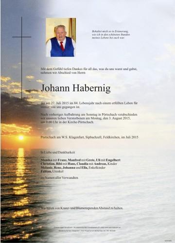 Johann Habernig