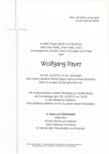 Wolfgang Payer