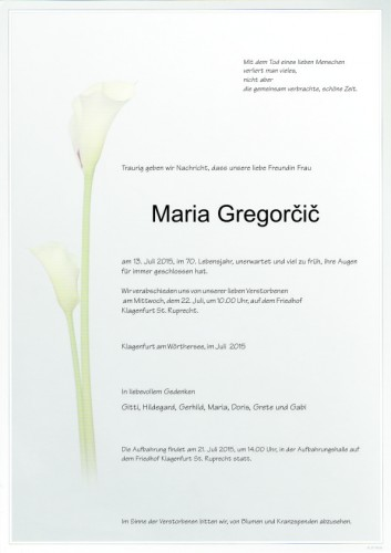 Maria Gregorcic