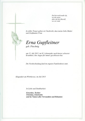 Erna Gupfleitner