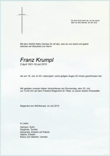 Franz Krumpl
