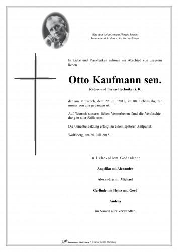 Otto Kaufmann sen.