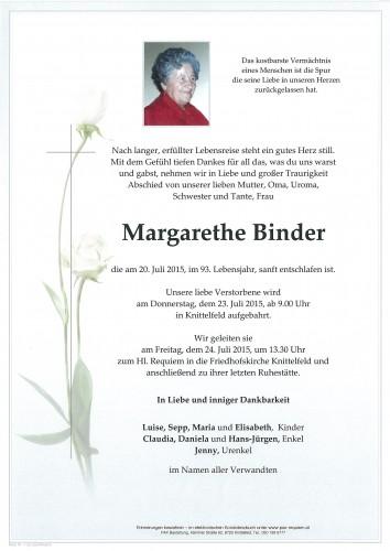 Margarethe Binder