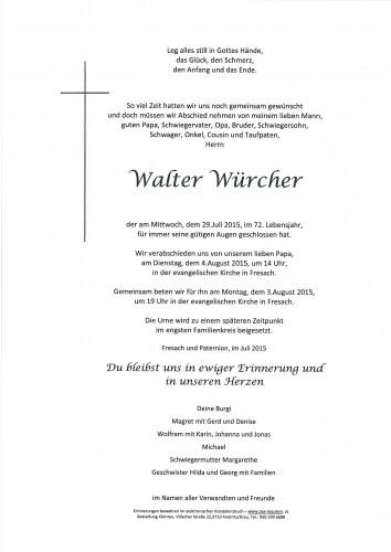 Walter Würcher