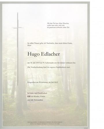 Hugo Edlacher