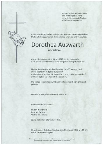 Dorothea Auswarth