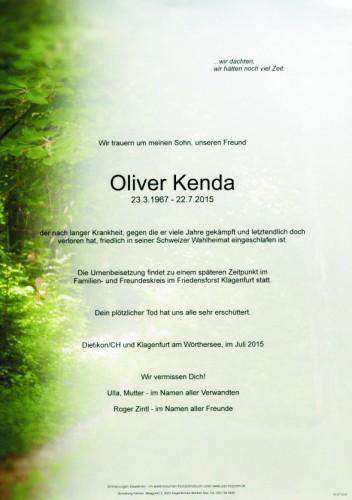Oliver Kenda